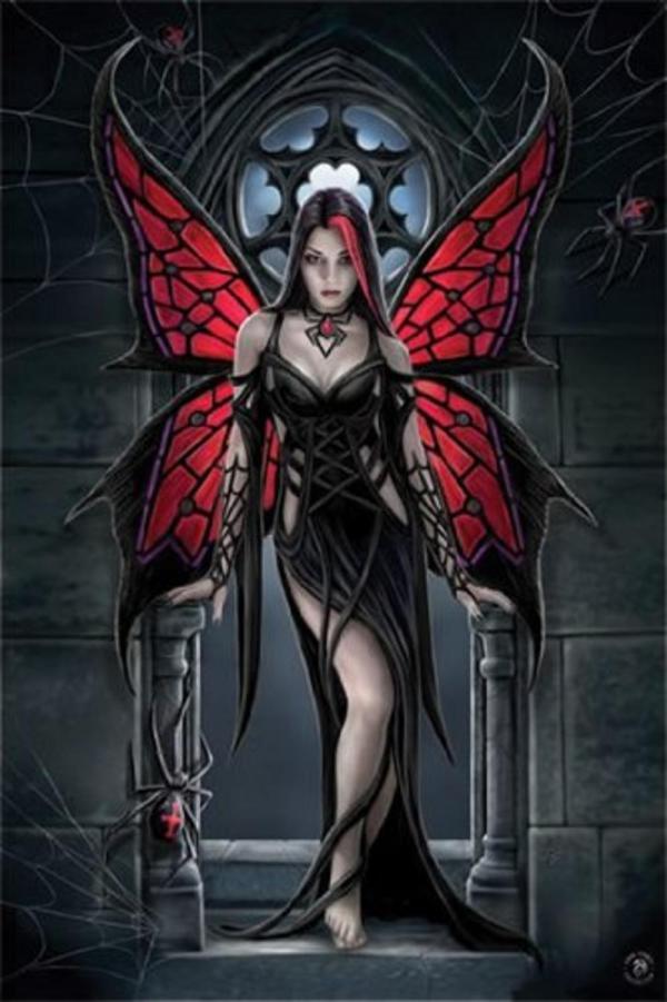 Purple Gothic Fairy