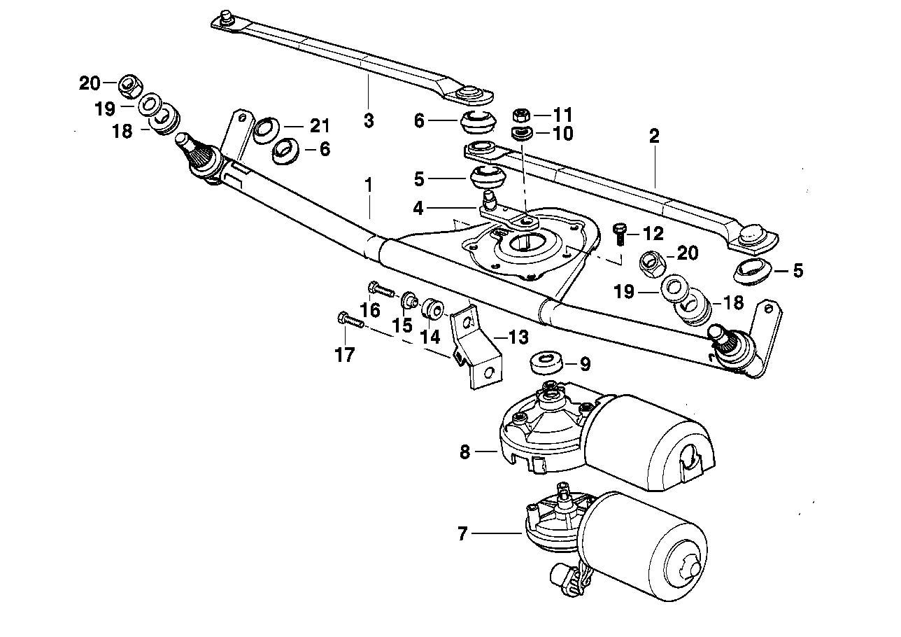 wiper motor wiring diagram for a bmw 320i
