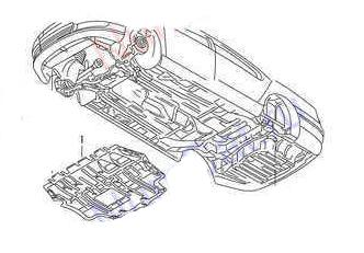 VW PASSAT 2006-2015 FRONT LOWER ENGINE UNDER TRAY PLEASE