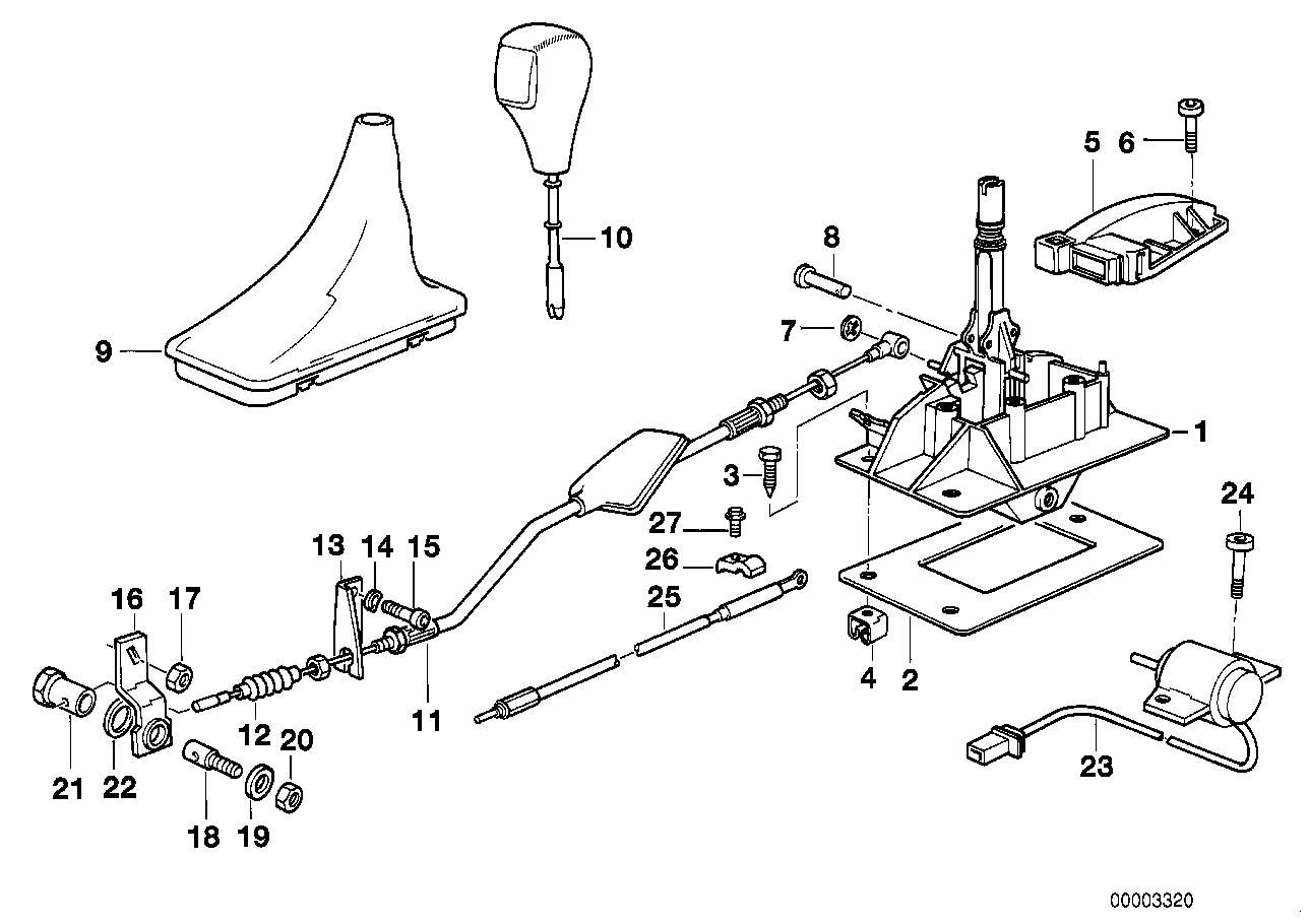 1995 E31 840ci Auto selection issues