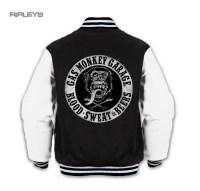 Official GMG Gas Monkey Garage Black Varsity Jacket BLOOD ...