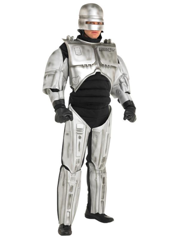 Adult Xl Licensed Robocop Robot Fancy Dress Costume