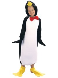 Fancy Dress Kids Childs Penguin With Bow Tie Animal ...