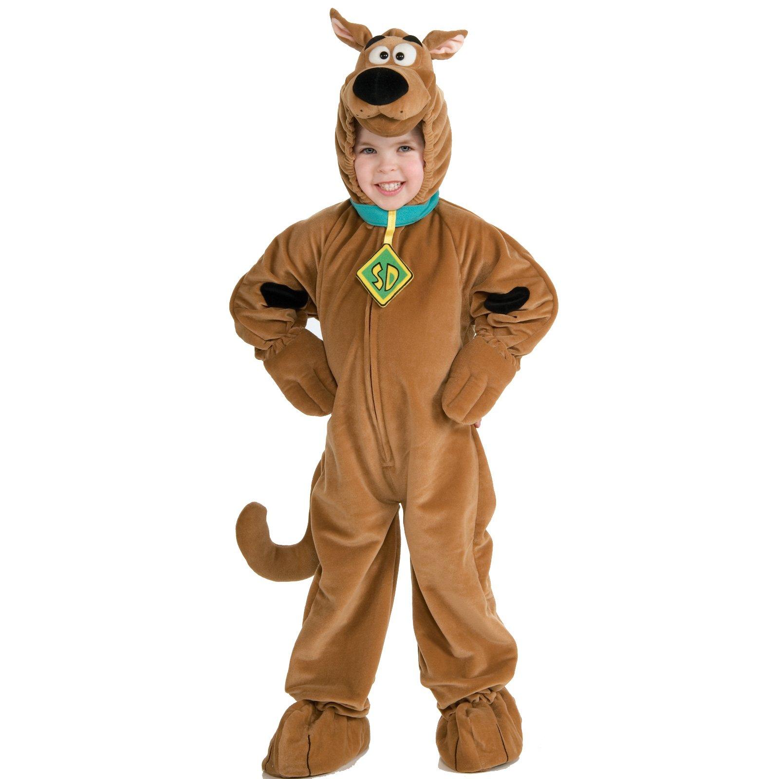 Child Polar Fleece Scooby Doo Deluxe Fancy Dress Halloween