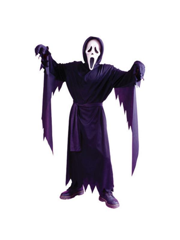 Adult Scream 4 Ghost Face Halloween Fancy Dress Costume