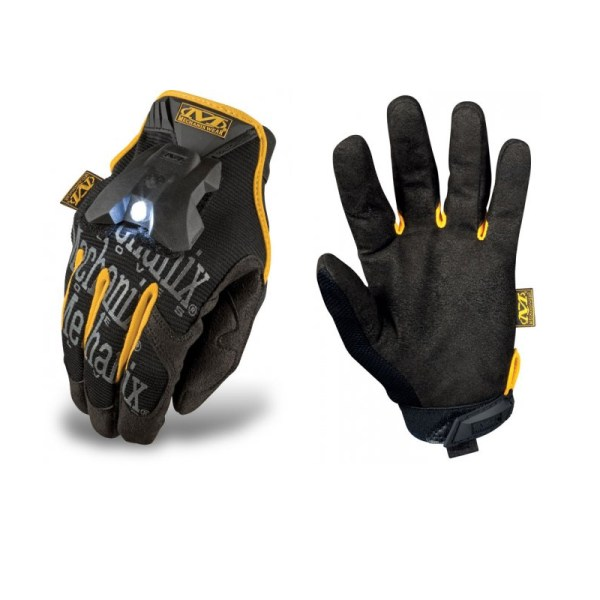 Mechanix Mens Cycling Led Waterproof Light Padded Long