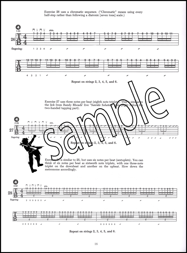 Speed Mechanics for Lead Guitar TAB Music Book/CD Troy