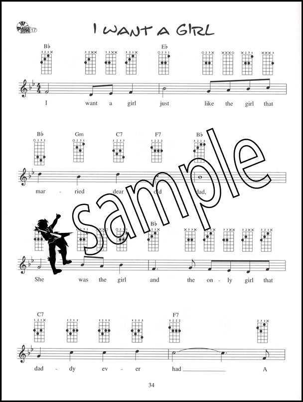 Ukulele Chord Solos in C Tuning Chord Melody Music Book/CD
