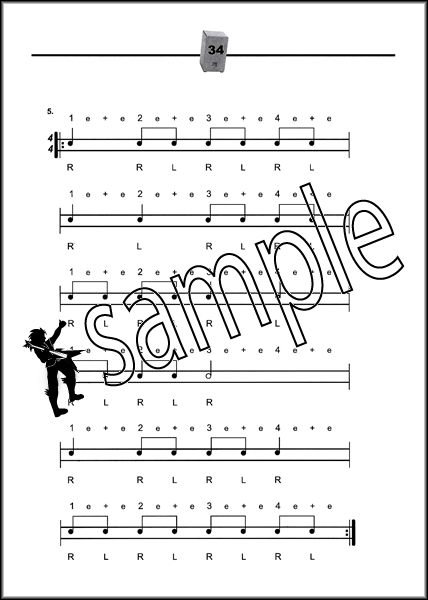 Studies for Cajon Learn How to Play Hand Drum Sheet Music