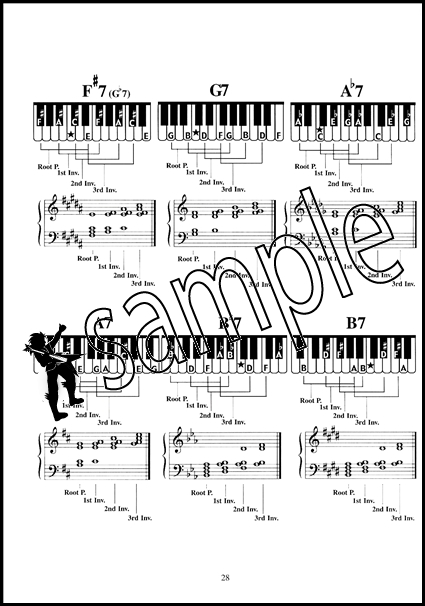 You Can Teach Yourself Piano Chords Chord Book inc