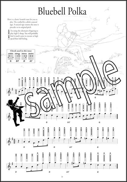 Instant Tin Whistle Popular Book/CD Tinwhistle Sheet Music