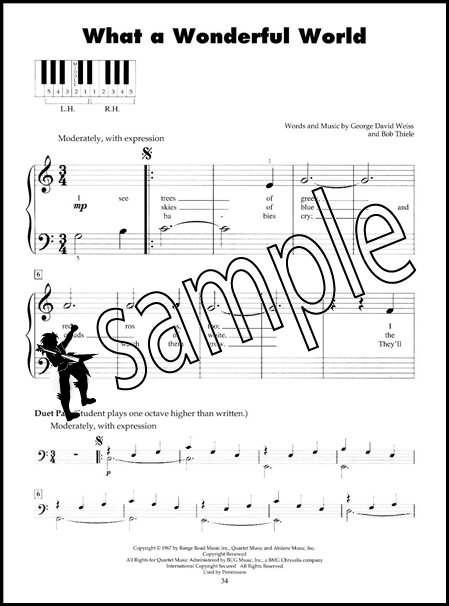 First Pop Songs 5 Five Finger Piano Very Easy Sheet Music