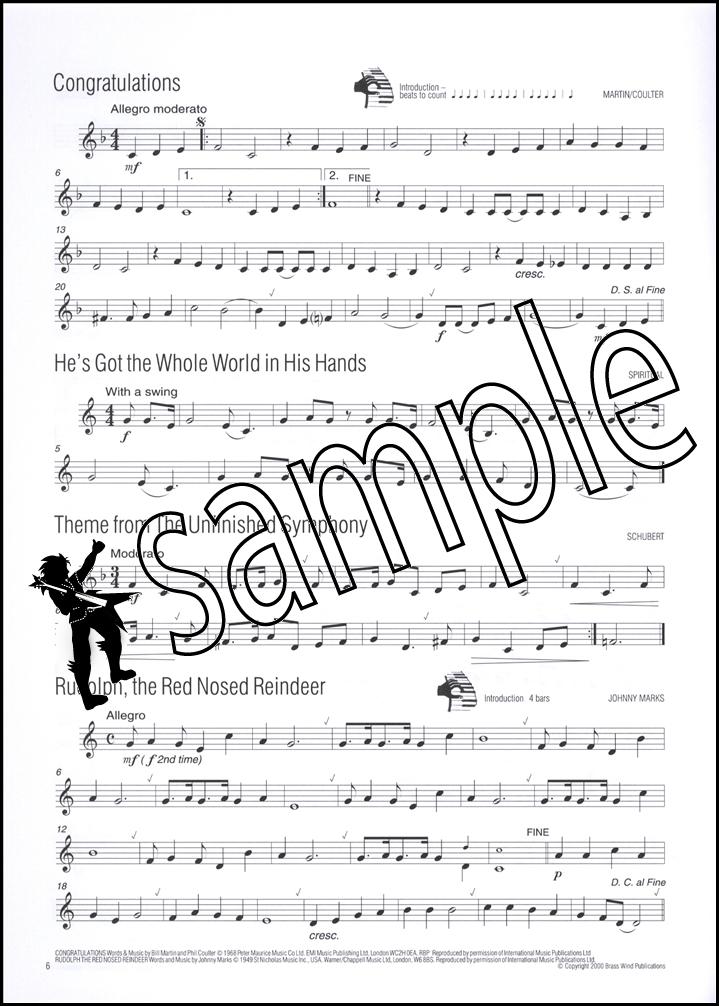 Easy Winners Trumpet Eb/F Horn Euphonium Eb Bass Sheet