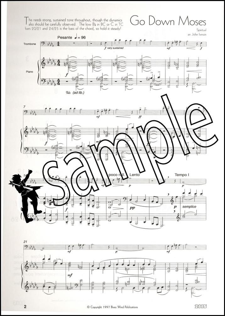 A Little Light Music for Trombone Treble Clef Sheet Music