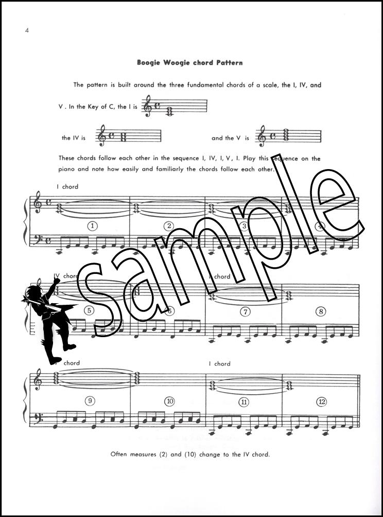 Boogie Woogie for Beginners Sheet Music Book/CD Piano