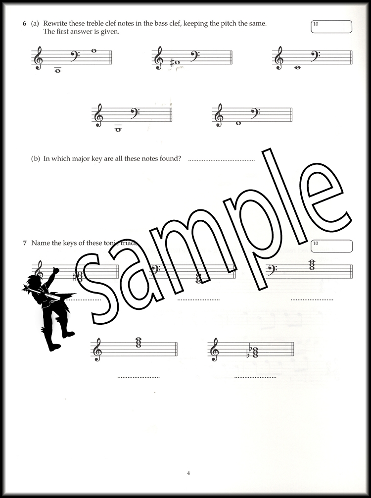 ABRSM Music Theory Past Papers 2015 Grade 2 Sheet Music