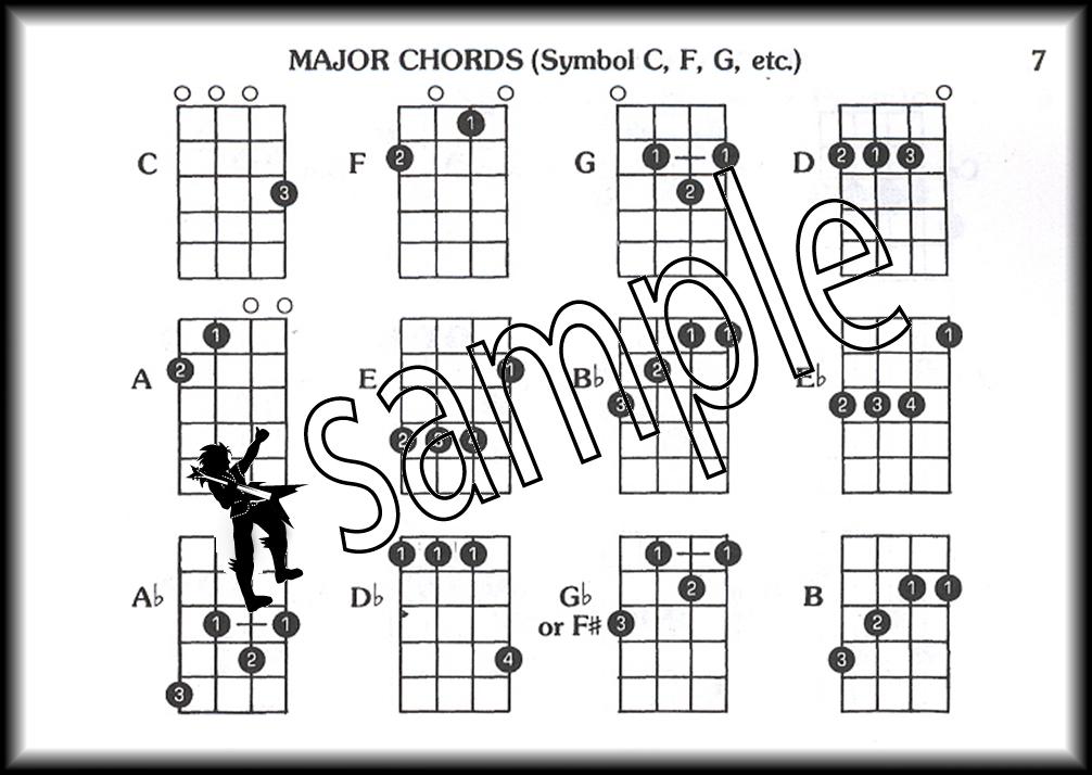 Music Pocketbook Ukulele Music Book Chords/Strums/Solos