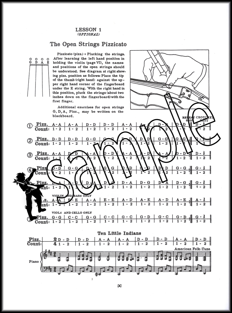 A Tune A Day for Violin 1 Sheet Music Book Learn How To