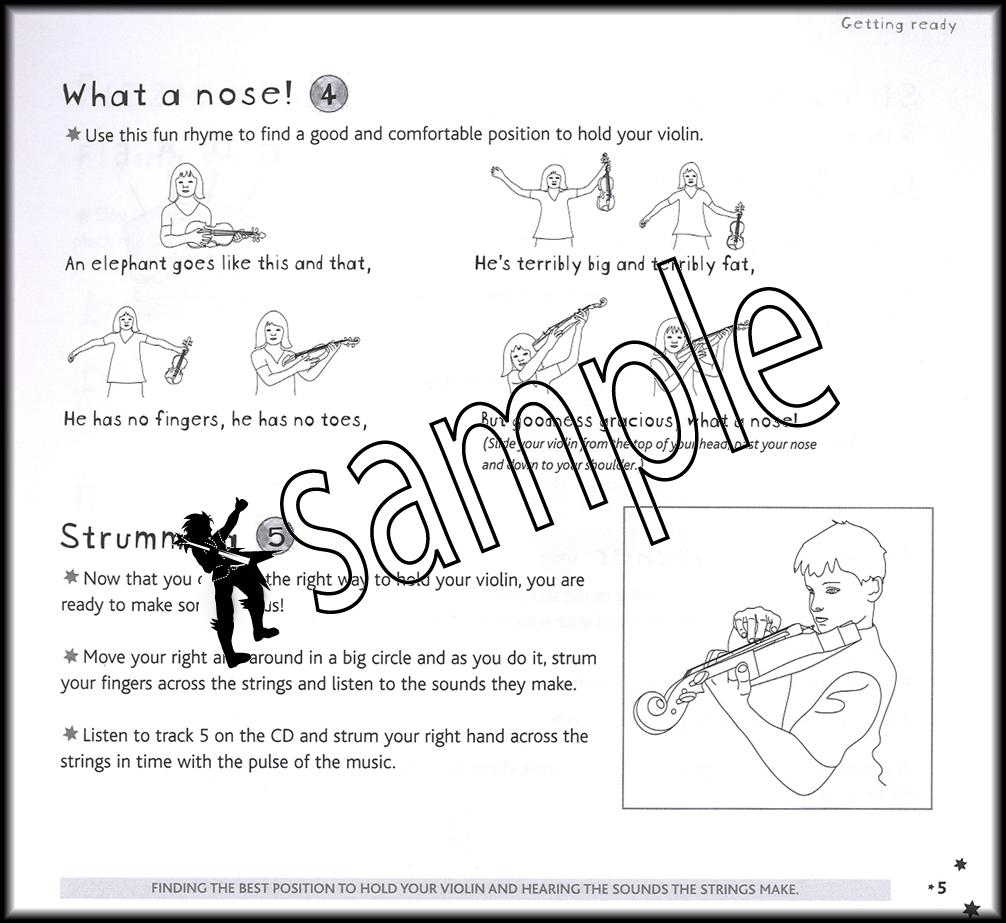 Abracadabra Violin Beginner Sheet Music Book with CD Learn