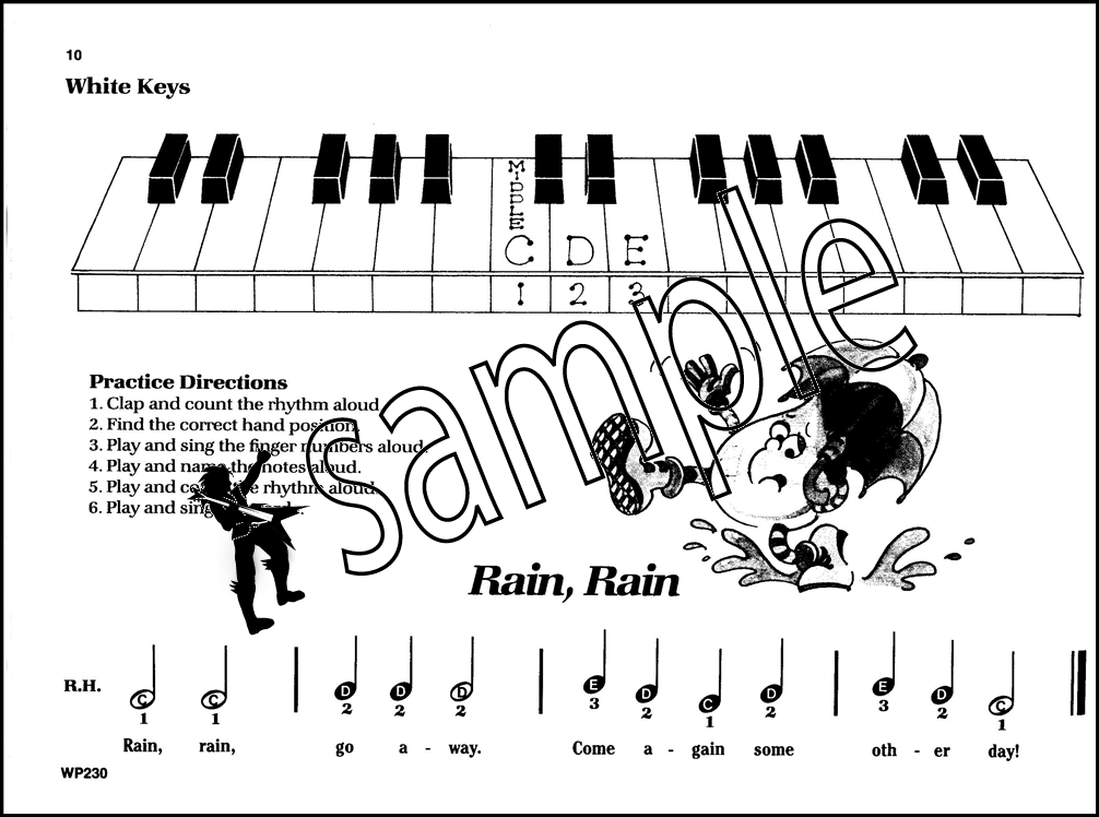 Bastien Piano For The Young Beginner Primer A Sheet Music