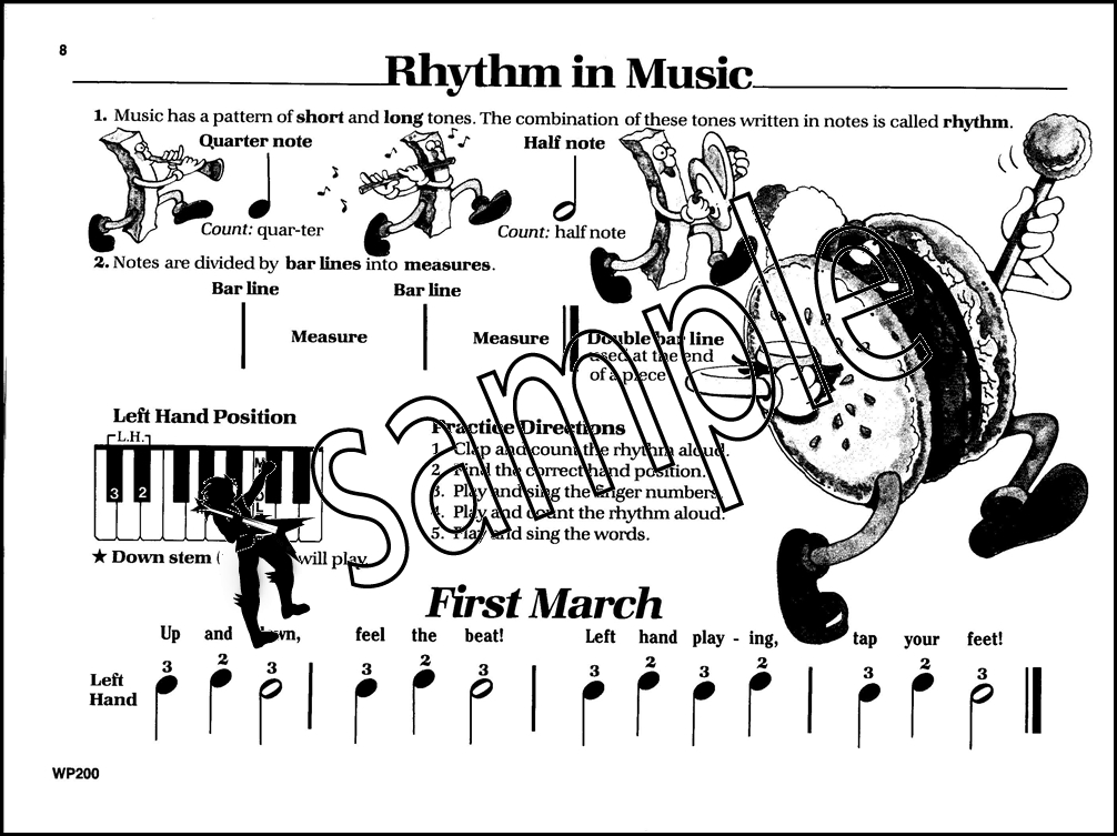 Bastien Piano Basics Piano Primer Level Music Book Sheet