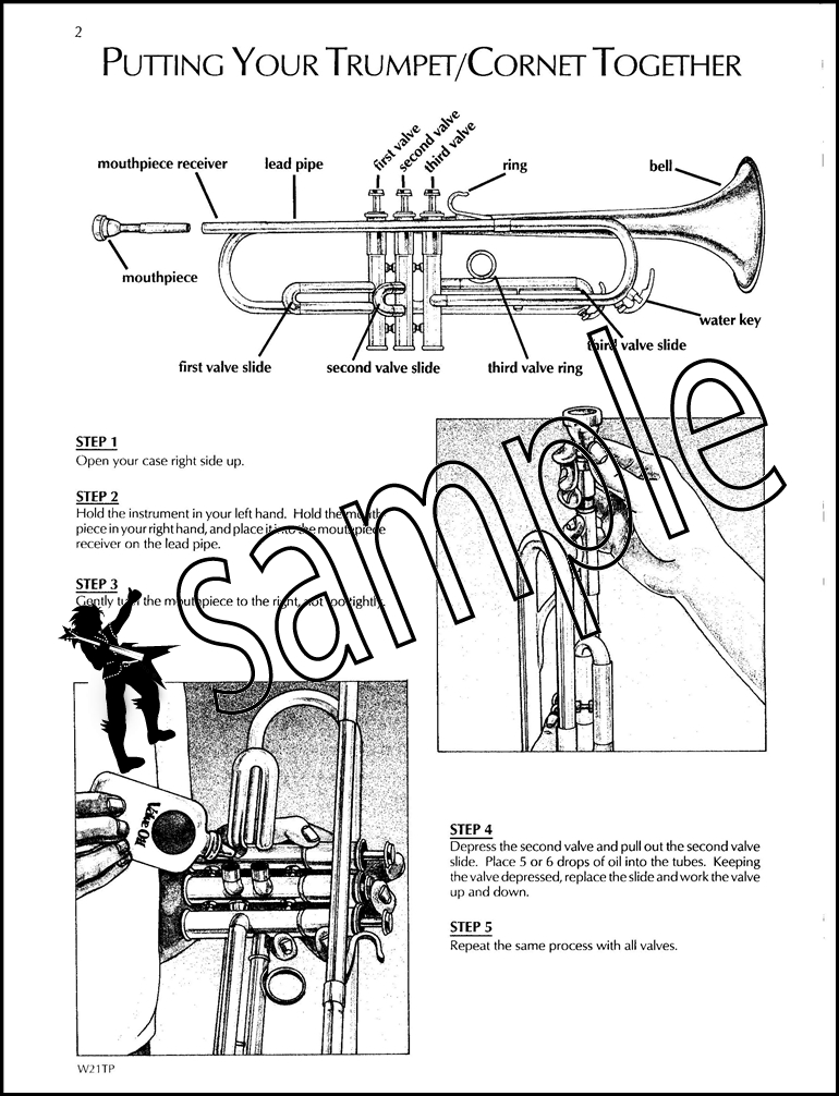 Standard of Excellence 1 Bb Trumpet/Cornet Music Book