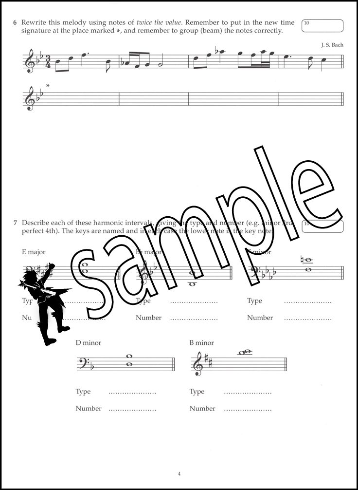 ABRSM Music Theory Past Papers 2016 Grade 3 Exams Tests