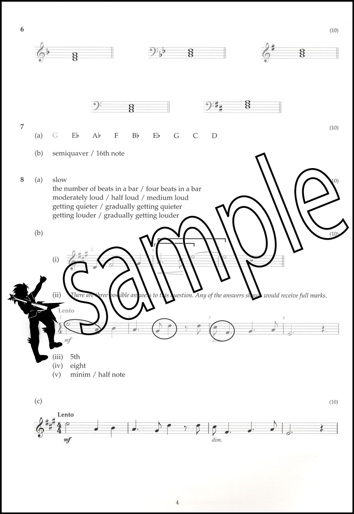ABRSM Music Theory Past Papers 2016 Model Answers Grade 2