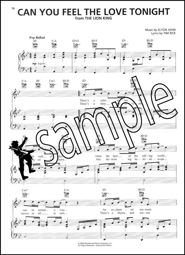 DISNEY contemporanea 50 canzoni preferite PIANO VOCAL