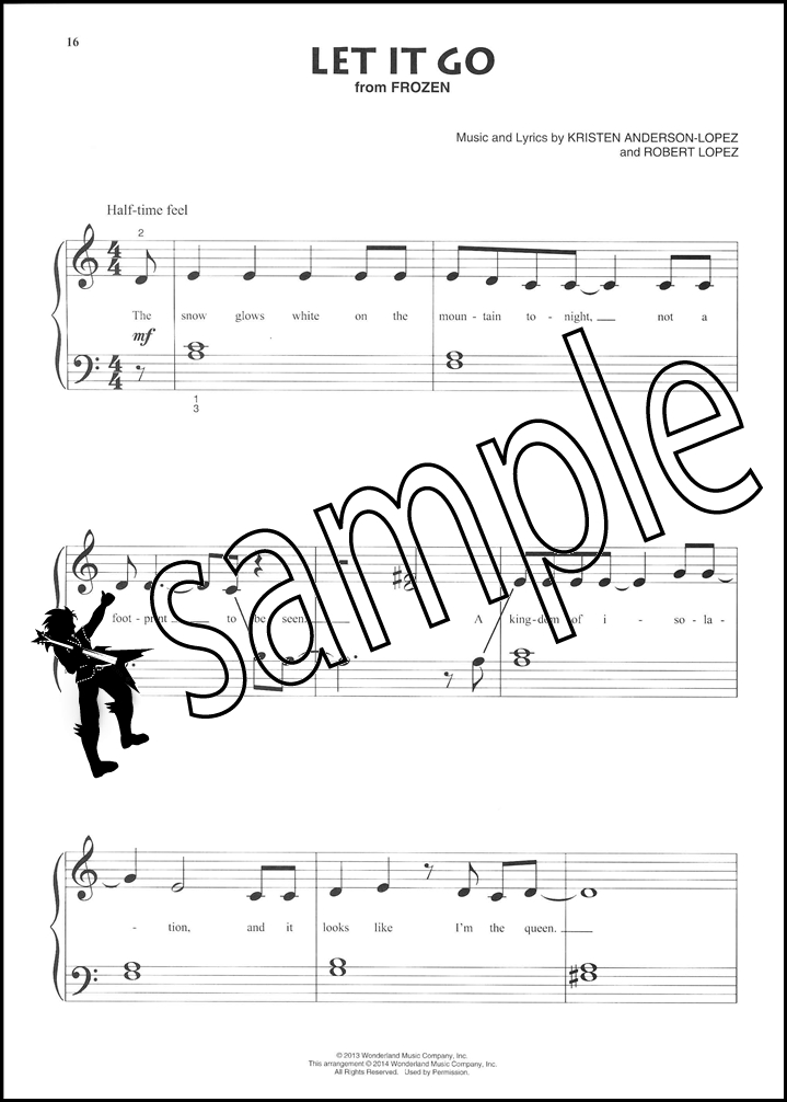 Contemporary Disney Beginning Piano Solo Sheet Music Book