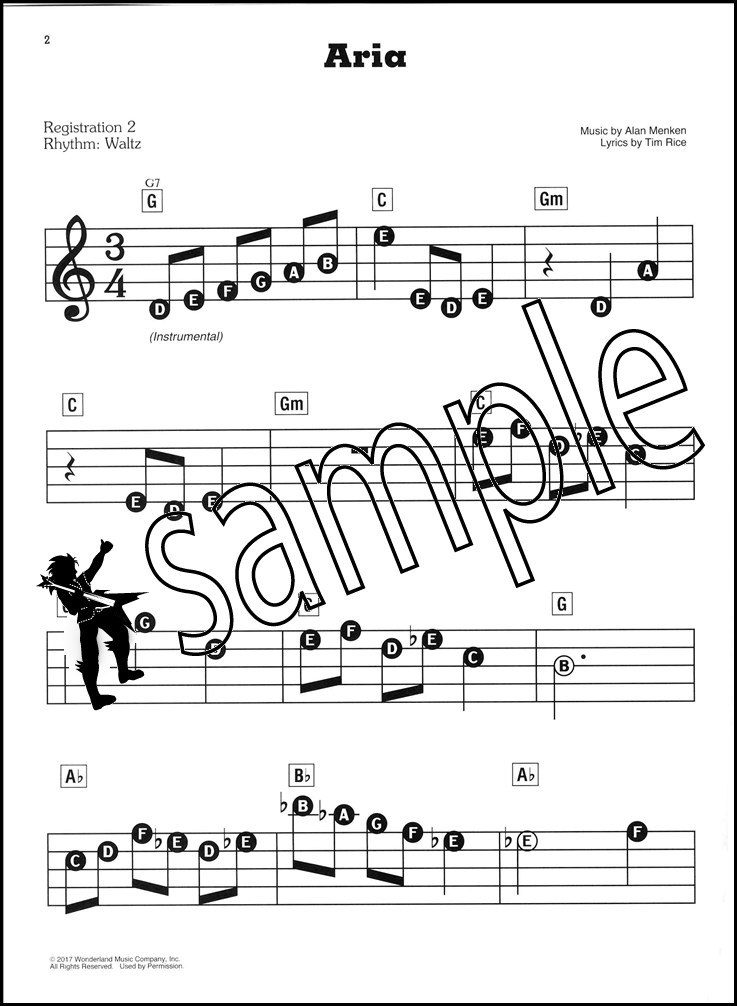 Beauty and the Beast E Z Play Today Easy Piano Sheet Music
