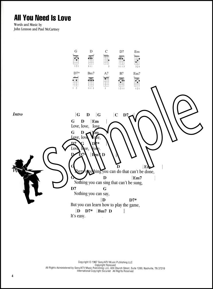 Ukutabs Chord Chart