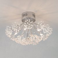 Blossom Chrome Ceiling Roof Light Lamp Shade for Lounge ...