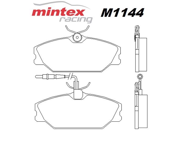 Mintex M1144 For Renault Megane 2.0 MK 1 Scenic 97>99
