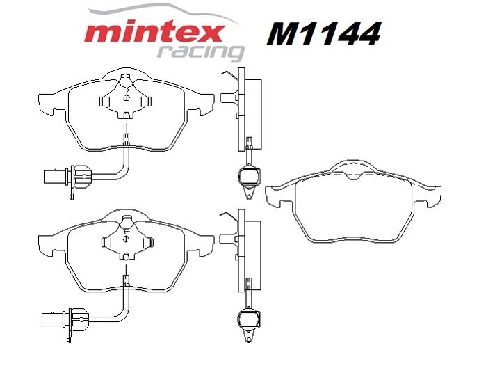Mintex M1144 For Audi A4 1.9 B6 TDi Quattro 02>04 Front
