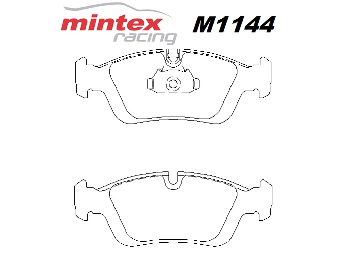 Mintex M1144 For BMW 3 Series 316 1.6 E36 i 91>98 Front
