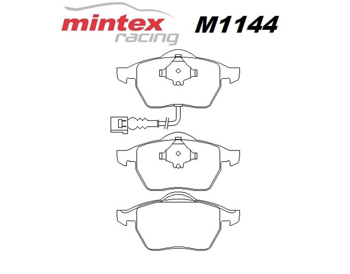 Mintex M1144 For Audi A3 1.8 8L T Quattro 99>02 Front Race