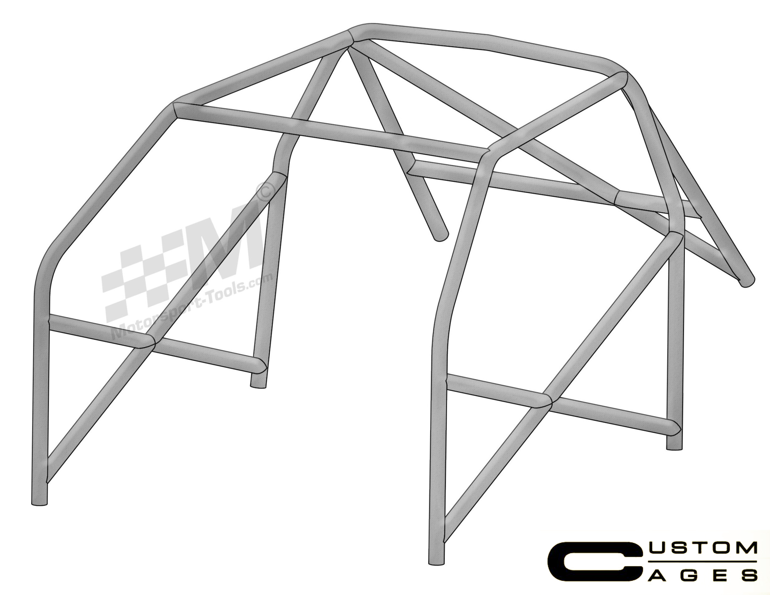 Custom Cages Honda Civic Ep3 Type R 6 Point Weld In Roll