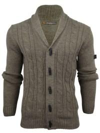 Mens Ben Sherman Cable Shawl Collar Cardigan | eBay