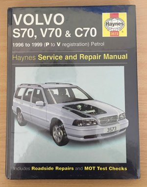 Volvo S70, V70 and C70 19961999 (P to V reg) Petrol