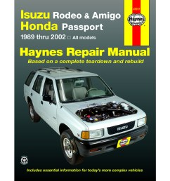 isuzu rodeo 1991 2002 haynes usa workshop manual [ 1000 x 1000 Pixel ]