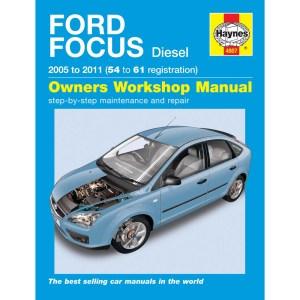 HAYNES MANUAL Ford Focus 16 18 20 Diesel 0509 (5409