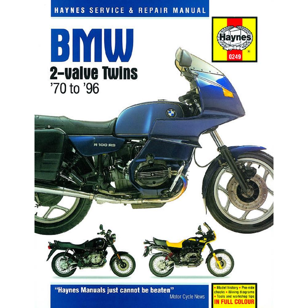 medium resolution of bmw 2 valve twins haynes manual 1970 96 r45 r50 r60 r65 r75 r80 r90 r100