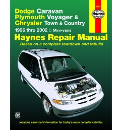 chrysler voyager and grand voyager 2000 2002 haynes usa workshop manual [ 1000 x 1000 Pixel ]