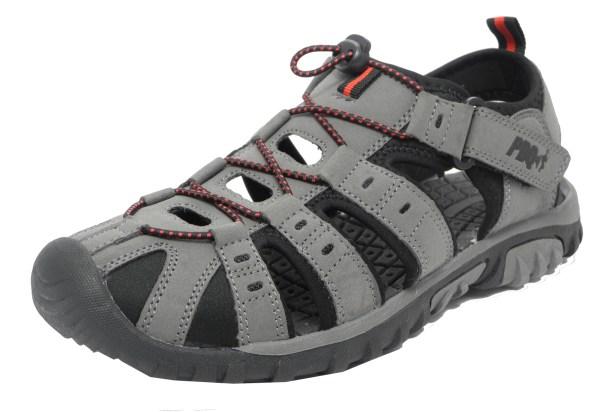 Mens Boys Pdq Sports Hiking Closed Toe Trail Sandals Size