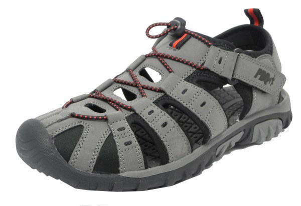 Mens Boys Pdq Sports Hiking Closed Toe Trail Sandals 2 3 4