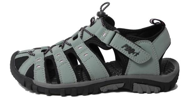 Womens Ladies Pdq Sports Hiking Closed Toe Trail Sandals