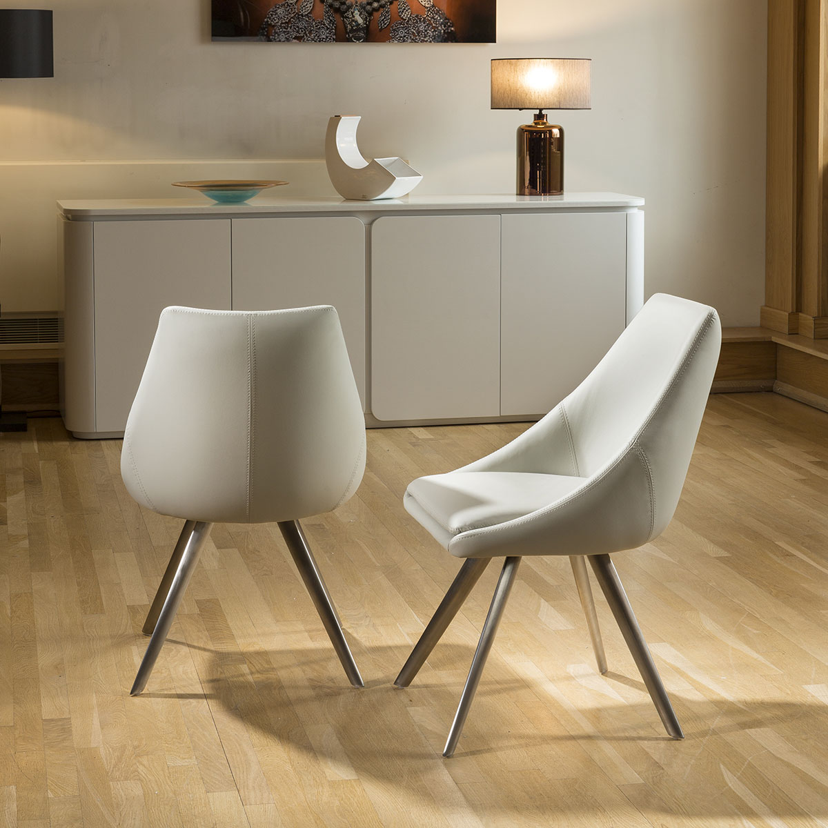 modern grey dining chairs uk folding table for toddlers round glass top set base 43 4 ice