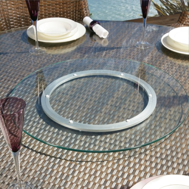 Large Lazy Susan Awesome Large Glass Lazy Susan Home Design Ideas