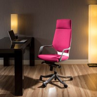 Luxury High Back Office Chair Diablo red/pink Executive ...